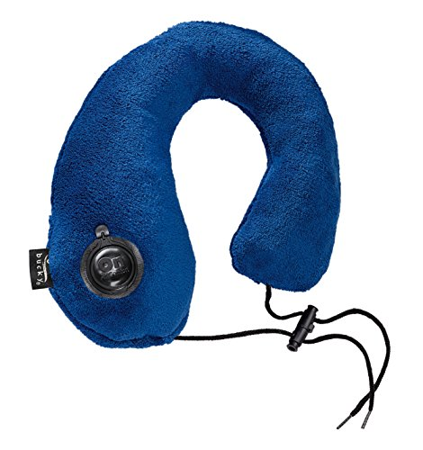 Bucky Gusto Inflatable Neck Pillow, Navy, One Size