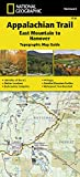 Appalachian Trail, East Mountain to Hanover [Vermont] (National Geographic Topographic Map Guide (1510))