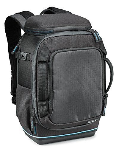 Cullmann Peru Backpack 200+ extrem robuster Kamerarucksack für mittlere DSLR-Ausrüstung, Small schwarz