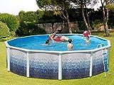TOI - Piscina TRENCADÍS CIRCULAR 550x120 cm Filtro 3,6 m³/h.