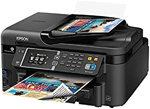 Epson WorkForce WF-3620 WiFi Direct All-in-One Color Inkjet Printer, Copier, Scanner, Amazon Dash Replenishment Ready