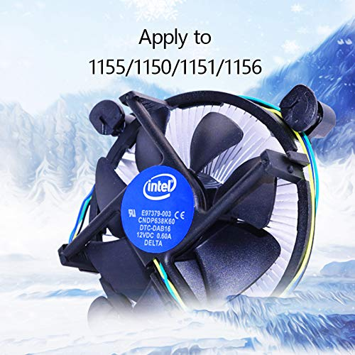 Intel CPU-Kühler E97378-001 Sockel 1150 1155 1156 / Intel Original E97378-001 LGA1155/1156/1150 CPU Kühler Aluminium + Kupfer P/N # E97378-001 für Intel CPU i5 i7 i3