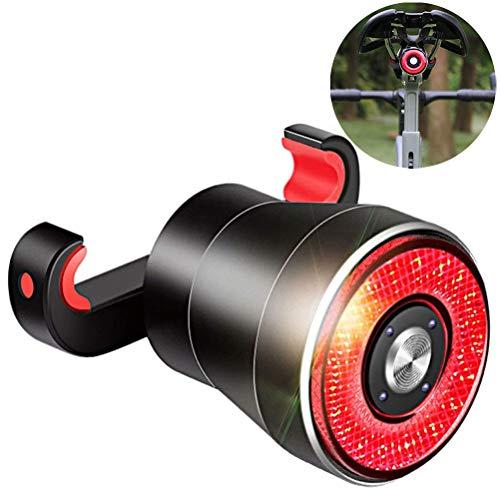 Sysow Fahrrad Rücklicht, USB Wiederaufladbar Fahrradrücklicht, LED Fahrrad Rückleuchten, Wasserdicht Fahrradbeleuchtung für Rennrad MTB