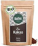 Bio Kakao Pulver - 100% reines Kakaopulver stark entölt -