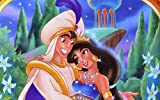 Rompecabezas De 1000 De Alta Definición Piezas Puzzle Rompecabezas Niños Y Adolescentes Decoración Del Hogar, Aladdin Magic Lamp-Anime Movie Poster