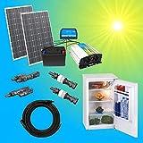 200W Solaranlage Kühlschrank Komplettpaket 220V TÜV Qualitäts 100Ah Akku...