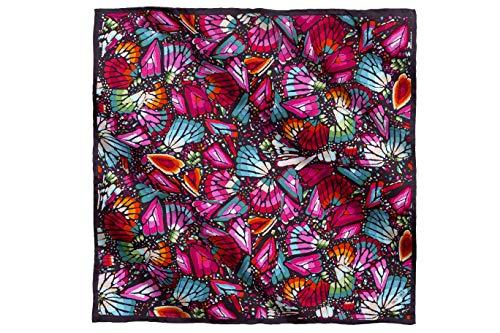 Pineda Covalin – Mascada Mariposa Bordada 54 cm Original