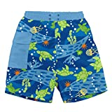 i play. by green sprouts baby-boys Trunks with Built-in Reusable Swim Diaper,Royal Blue Tu...