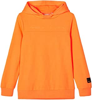 NAME IT Nkmdek LS Boxy Sweat UNB Sudadera con Capucha para Niñas