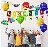 TK Gruppe Timo Klingler XXL Deko Dekoration über 100 Teile – Schulanfang, 1.Schultag, Einschulung, ABC Erster Schultag, Schuleinfühung, Konfetti, Luftballons UVM. - 5