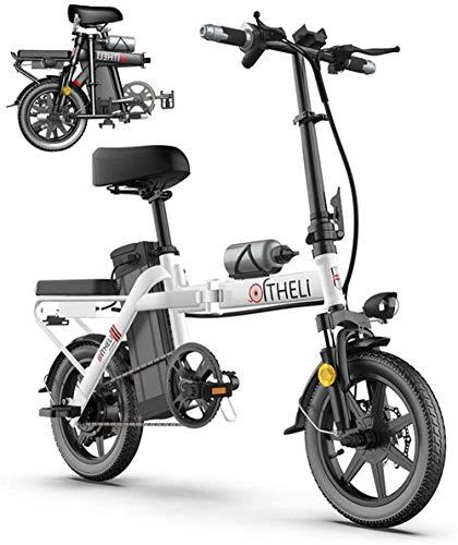 Bicicleta eléctrica Bicicleta eléctrica por la mon Bicicleta eléctrica plegable E-bici for...
