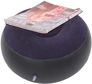 25 24 10.5 Cm WanNing Flocado Hinchable 2 Piezas Reclinable Inflable Plegable Perezoso Gris Y Negro//Rojo Y Blanco