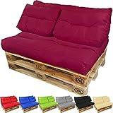 PROHEIM Coussins pour Canape Euro Palette Lounge - Créez Un élégant Sofa en Palette résistante aux éclaboussures (Pas Un...