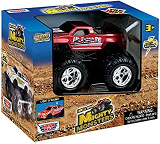 Motormax Light and Sound Mighty Monster Die Cast Model - 3 Years and Above
