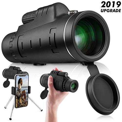 Review Of Monocular Telescope High Power 40x60 - Ce Optics High Powered Bak4 45 Degree Angled Eyepie...