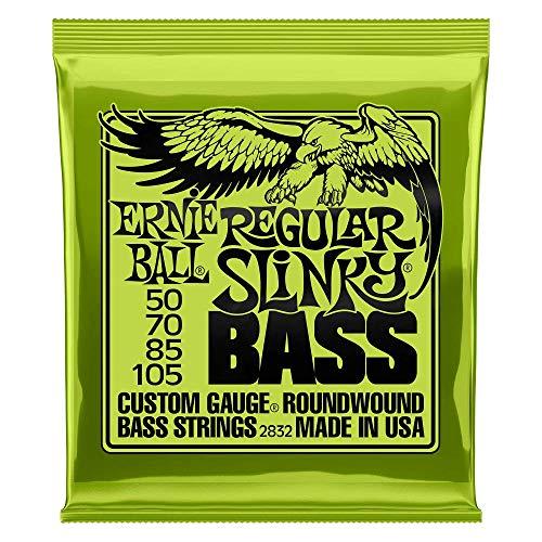 Ernie Ball P02832 Regular Slinky Nickel Wound Bass Set, .050 - .105