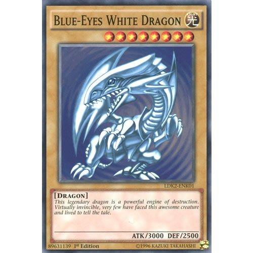 YuGiOh : LDK2-ENK01 Limited Ed Blue-Eyes White Dragon (Alternate Art 1) Common Card - ( Yu-Gi-Oh! Single Card ) by Deckboosters