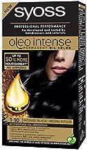 SYOSS Oleo Intense Permanent Oil Color Professional Performance Free AMMONIA 1-10 Dark Black