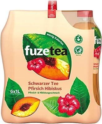Fuze Tea Pfirsich Hibiskus Einweg, 6er Pack (6 x 1 l)