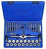 Irwin Tools 1841348Performance Einfädeln System selbstausrichtender Gewindebohrer und Schneideisen-Set, metrisch, Hemdenknöpfe