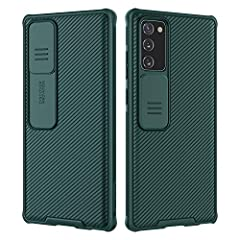 【Camera Lens Slide Design】Design for Note 20, NOT for Note 20 Ultra. Slide Lens protection cover protects the camera of Galaxy Note 20 from collision and scratches.and protect your camera and privacy. 【Ultra-Thin&Compact】The ultra-thin case fits snug...