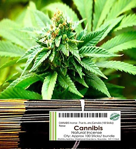 (C) CANNABIS Incense - True to life blend of Cannabis sativa wit
