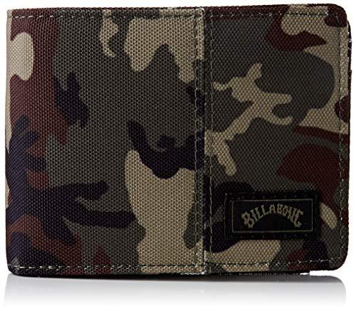 Tides Wallet BILLABONG - Cartera con Estampado Militar, (Multicolore (Camo)), Talla única