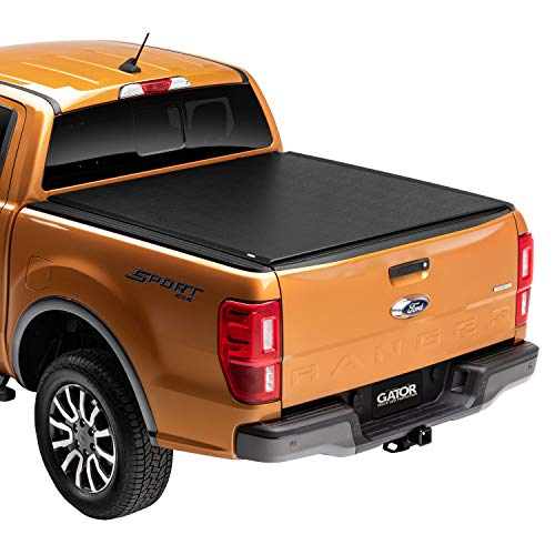 Gator ETX Soft Roll Up Truck Bed Tonneau Cover | 53112 | Fits 2015 - 2020 GMC Canyon & Chevrolet Colorado 5' Bed Bed | Made in the USA