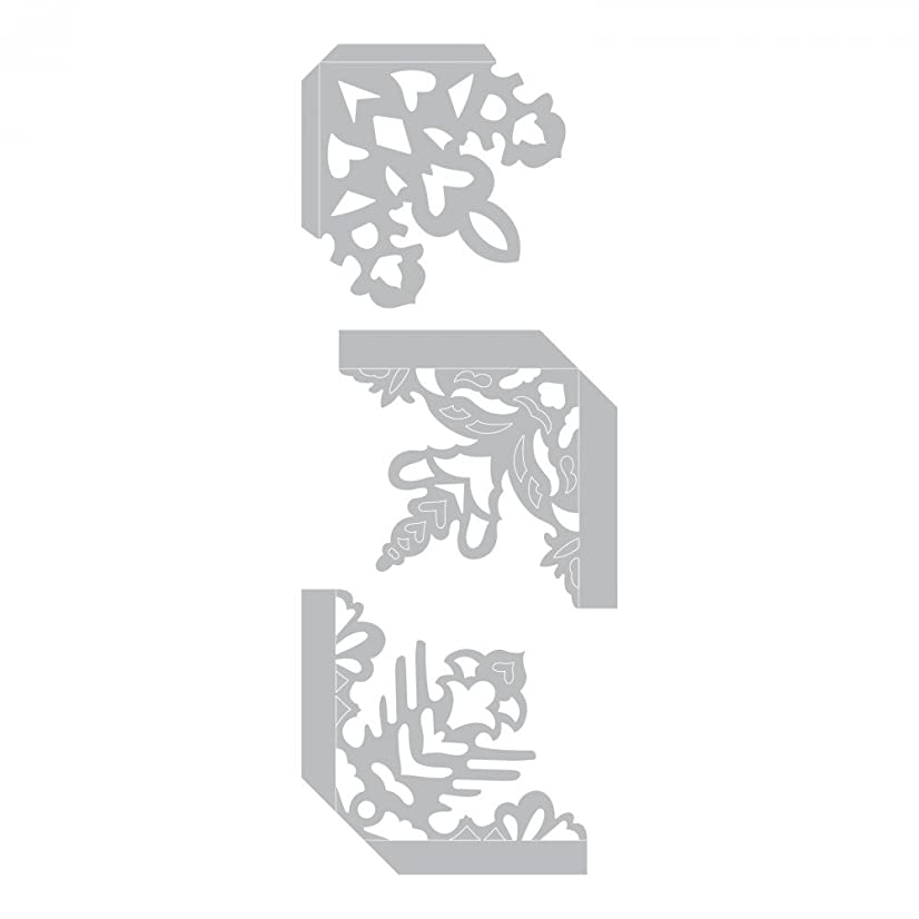 Sizzix 661539 Thinlits Die Set, Photo Corners, Snowflake by Sharyn Sowell (3-Pack)