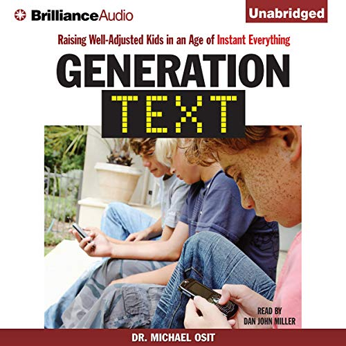 Generation Text audiobook cover art