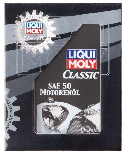 LIQUI MOLY 1130 Classic Motoröl SAE 50, 1 L