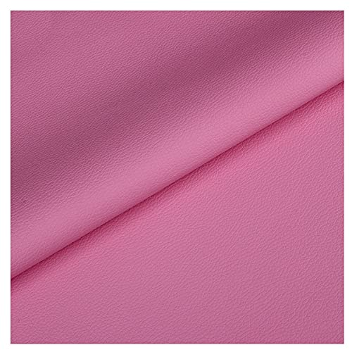 NIANTONG Tela de Polipiel para Tapizar por Metro 140cm de Ancho Tela de Vinilo de Piel Sintética Impermeable para Tapicería de Sillas de Sofá, Manualidades(Color:14)