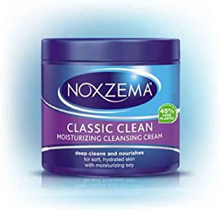 Noxzema Classic Clean Cream Moisturizing Cleansing, 12 oz