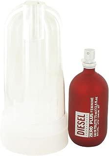 DIESEL zero plus 2.5oz edt spray by diesel for women, 2.5 Fl Oz
