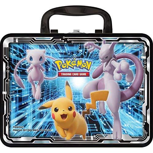 Pokémon POK80546 TCG: Sammelkiste (2019) gepanzerter Mewtwo, Pikachu, Charizard (eins nach Zufall)