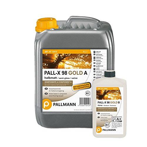 Pallmann Pall-X 98 A/B Versiegelung, halbmatt - 5,5 Liter