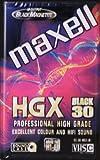 Maxell EC30 HGX - Cintas en Blanco