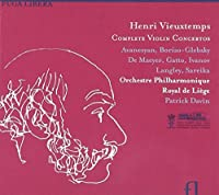 Vieuxtemps: Complete Violin Concertos by Various soloists (2011-03-08)