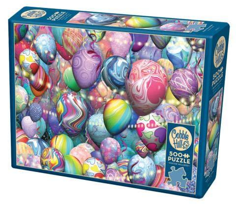 Cobble Hill Puzzle 500 piezas - Globos de fiesta