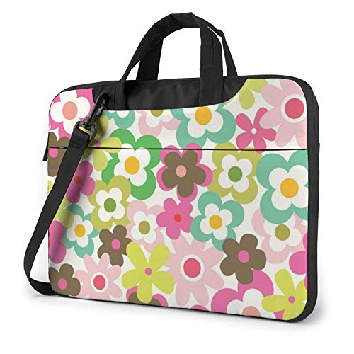 XCNGG Computertasche Umhängetasche Laptop Bag, Fruit Leaves Business Briefcase Protective Bag Cover for Ultrabook, MacBook, Asus, Samsung, Sony, Notebook 14 inch