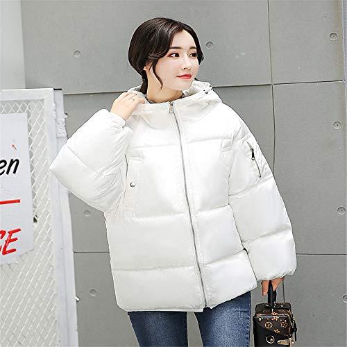 Waniii Short Winter Jacket Women Hooded Warm