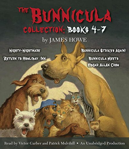 『The Bunnicula Collection: Books 4-7』のカバーアート