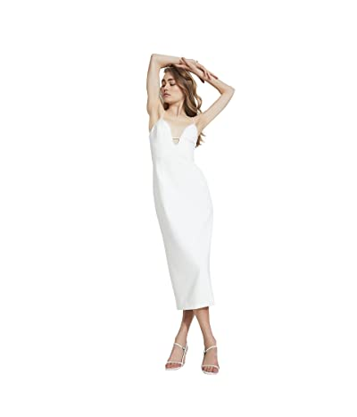 Bardot Structured Midi Dress
