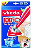 Vileda 100 Hot Spray and Steam Mop Replacement Pads - Pack of 2 by Vileda