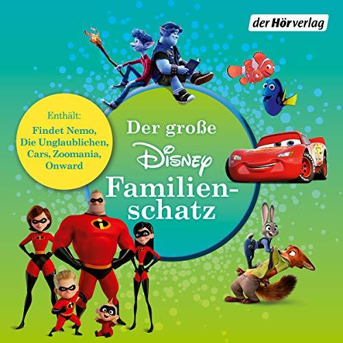 Der große Disney-Familienschatz: Findet Nemo - Die Unglaublichen - Cars - Zoomania - Onward: Keine halben Sachen: 24