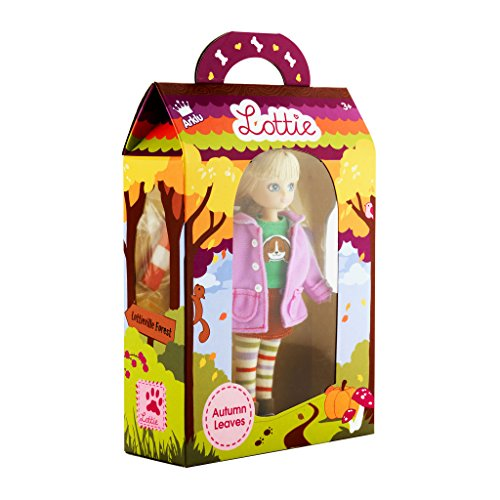 Lottie Doll Autumn Leaves | A Doll for Girls & Boys | Fashion Doll for Fall | Winter Doll with Boots and Hat