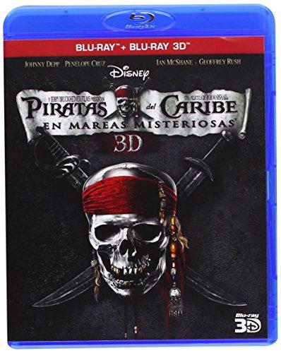 Piratas del Caribe 4: En Mareas Misteriosas (Blu-ray + Blu-ray 3D) [Blu-ray]