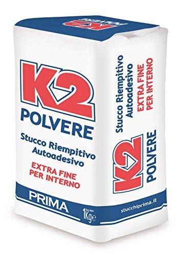Stucco K2 in polvere riempitivo color bianco kg. 1