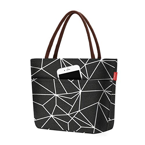 Aosbos - Lunch Bag mixte design noir 10L