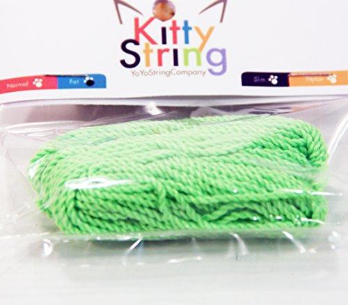 Kitty String FAT Yo-Yo String 10 pk - Green